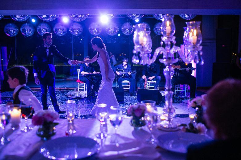 Fiesta de casamiento en el Salon Turf Argentino del Hipodromo de Palermo