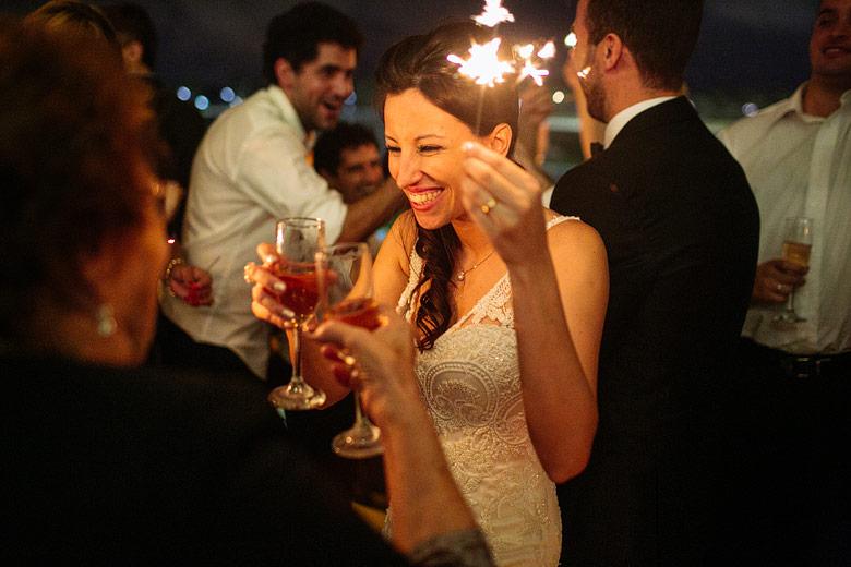 Foto de estrellitas para el brindis en casamiento