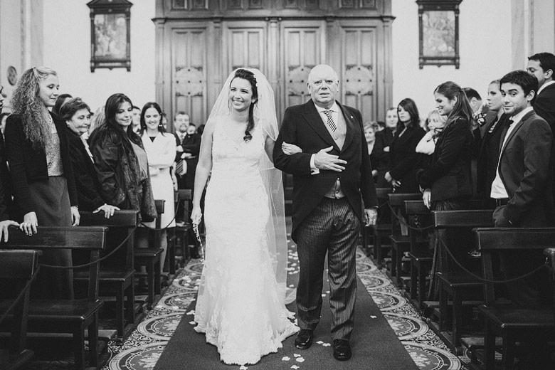 Casamiento en la Catedral de Montevideo, Uruguay