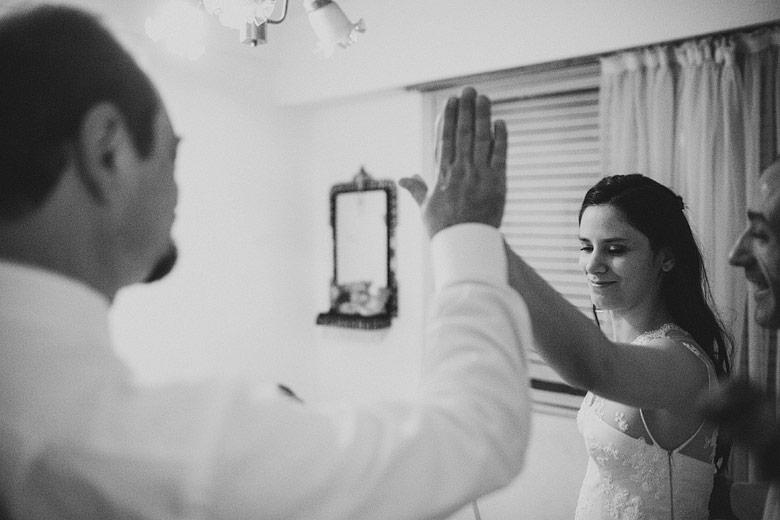 Momento decisivo en fotos de casamiento