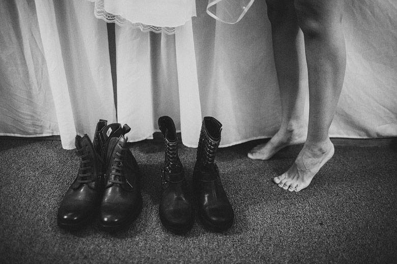 Fotografia de detalle de casamiento