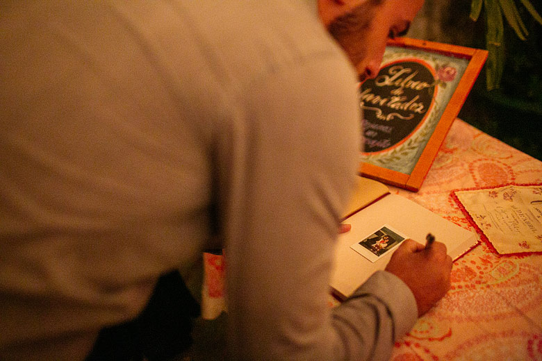 Libro de firmas para casamiento