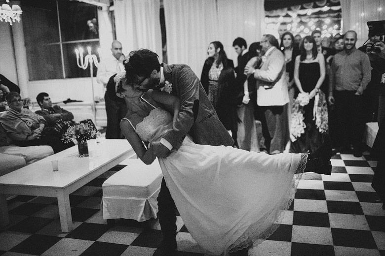 Casamiento intimo en Galpon Milagros, Palermo