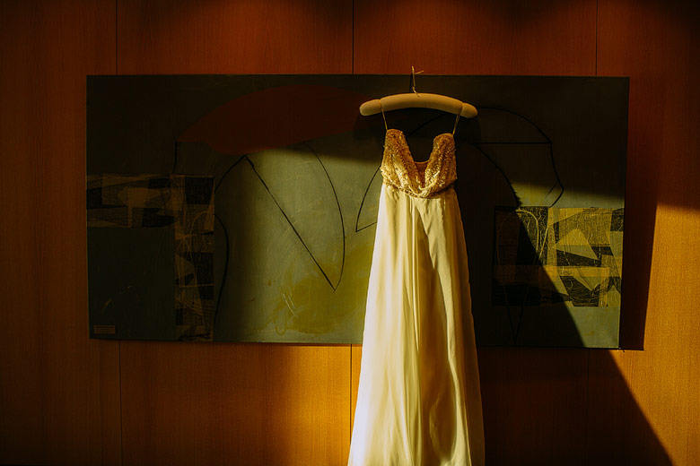Vestido de novia por Agustina Freyre