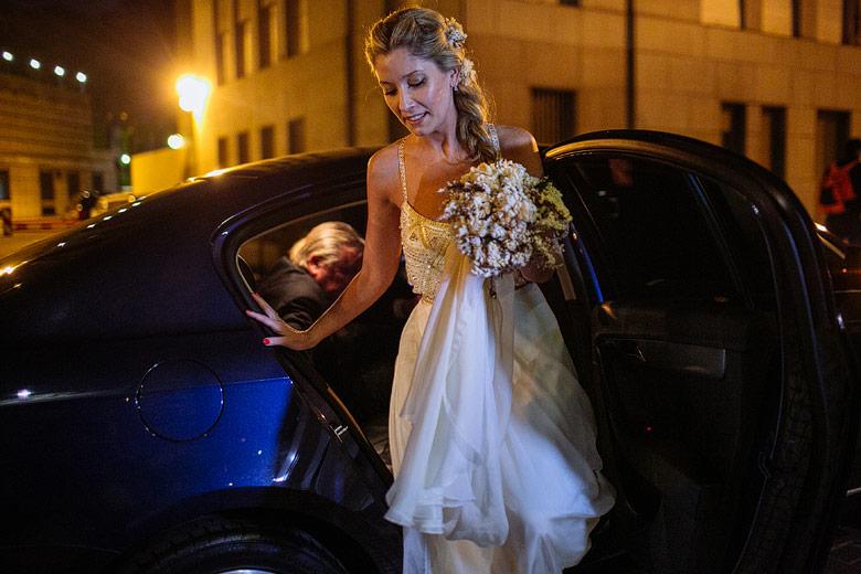 Llegada de la novia foto