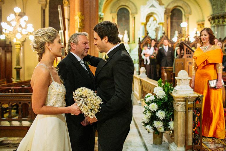 Casamiento en Iglesia del Santisimo Sacramento