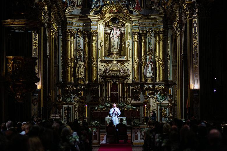 Fotos de casamiento en Boda en la Iglesia la Basílica Nuestra Señora de la Merced en Buenos Aires