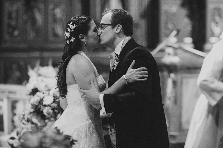 Momento preciso en foto de casamiento