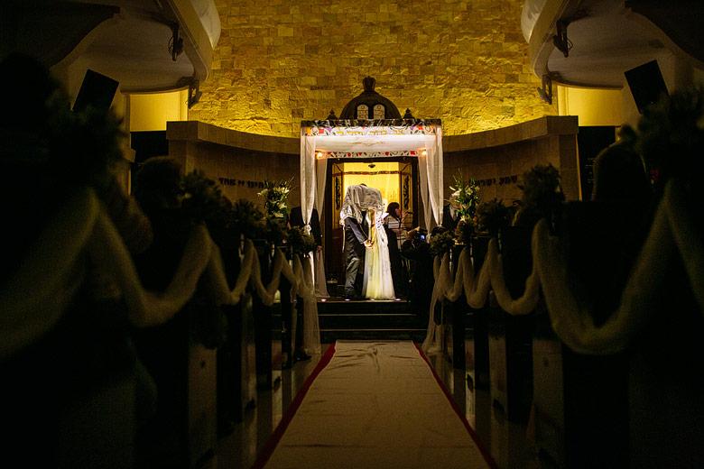 Fotos artisticas de casamiento con ceremonia judia