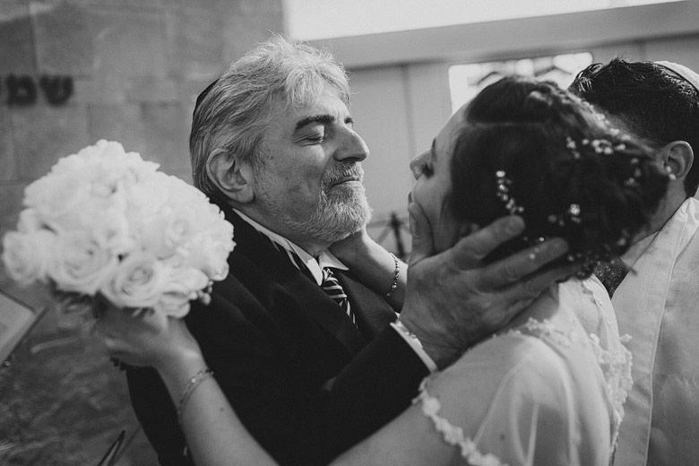 Foto de novia con su padre