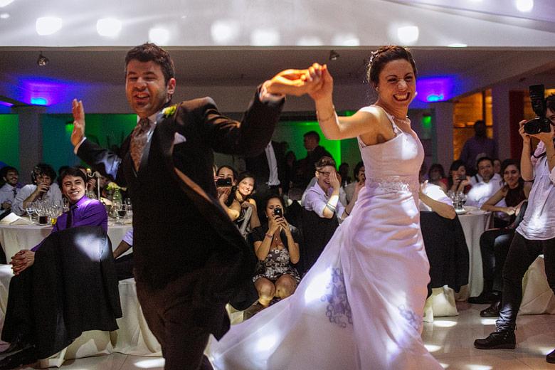 baile de novios en casamiento