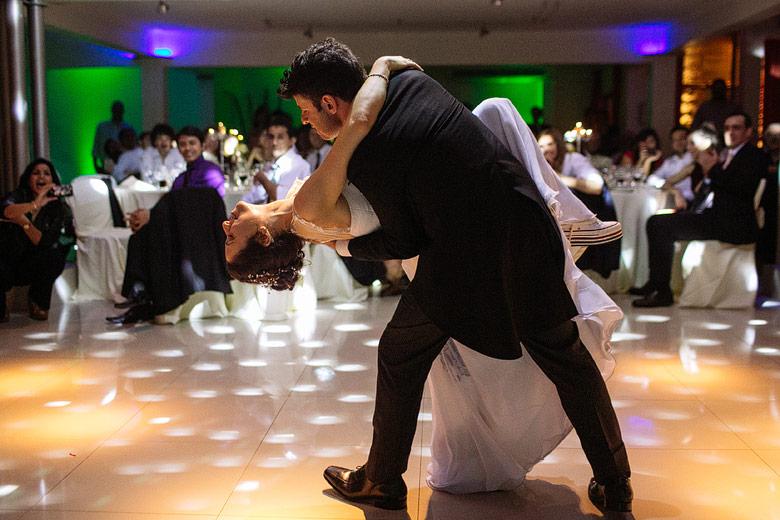 coreografia de novios en casamiento