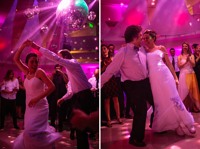Fotos de boda con luz disponible