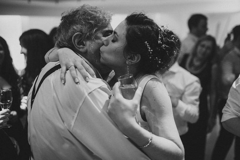 Toast wedding pics emotional