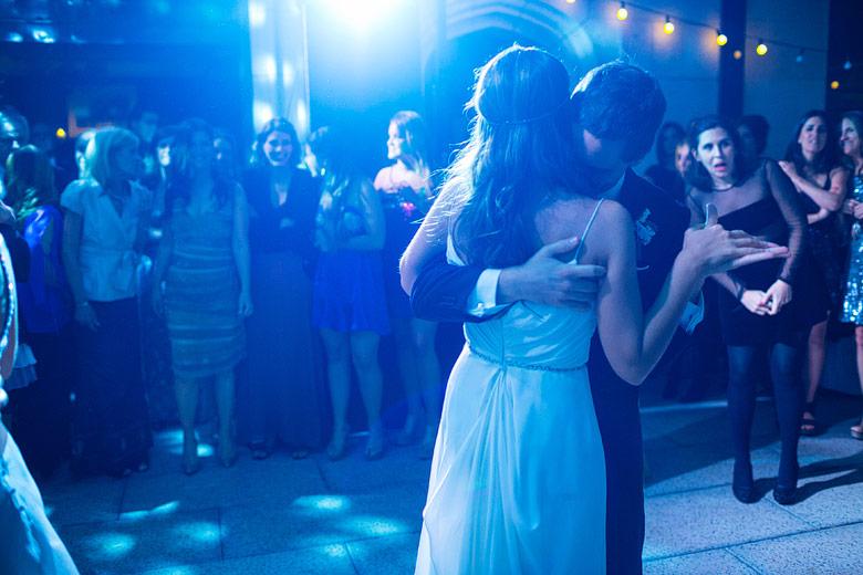 Fotos del vals de casamiento con onda