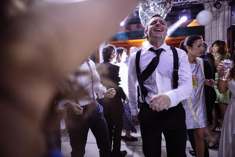 Fotos del baile de casamiento sin posar
