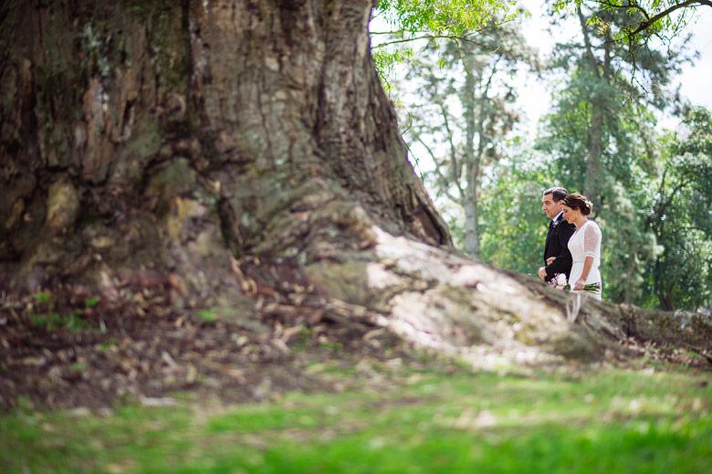 Fotos de ceremonia de boda en Estancia Carabassa