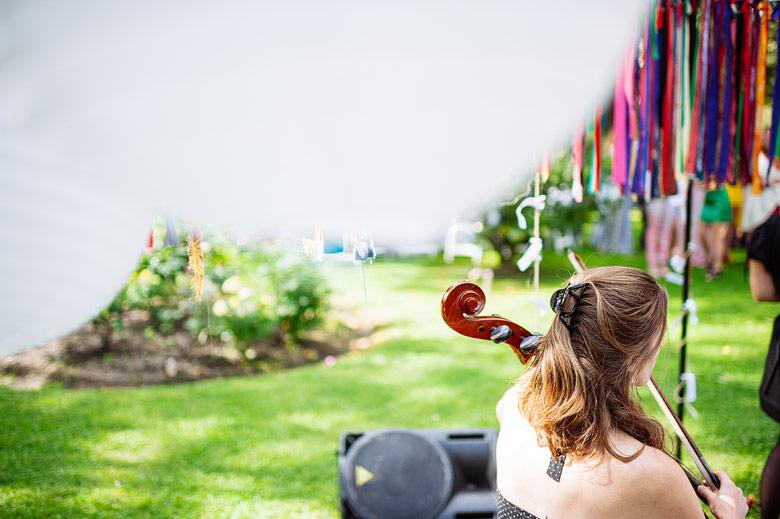 Banda La Impertinente Señorita Orquesta en casamiento de dia