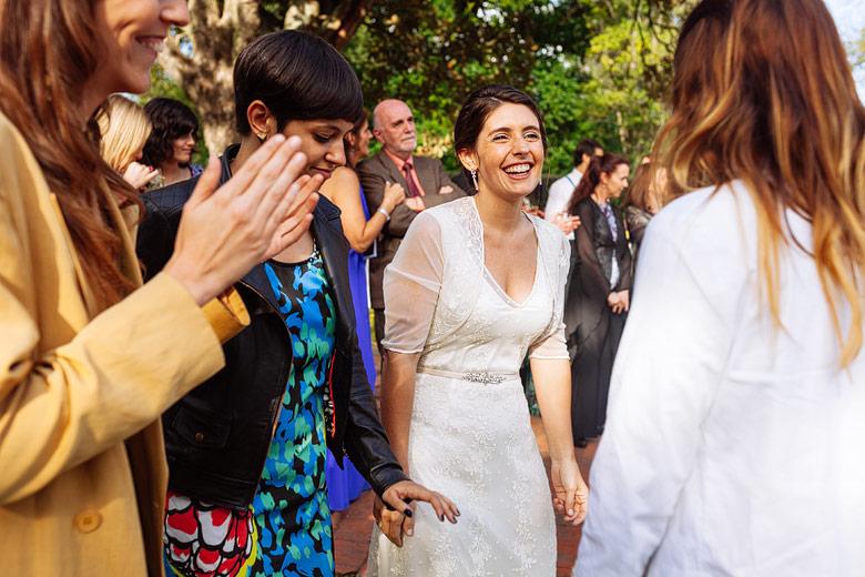 Casamiento de dia en Estancia Carabassa