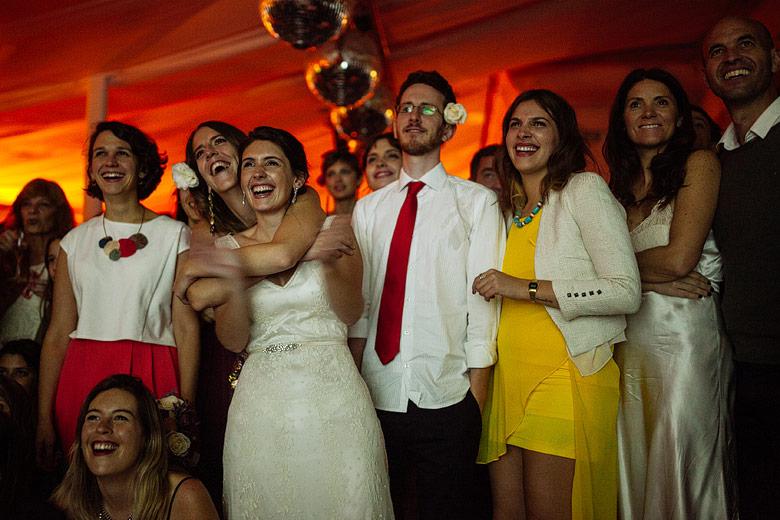 Casamiento descontracturado en Estancia Carabassa