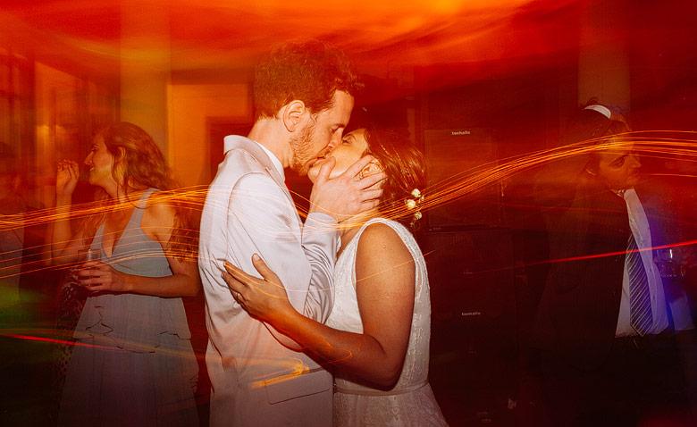 Fotografia moderna de casamiento