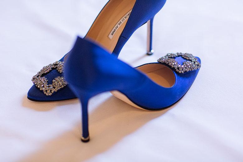 Zapatos de novia Manolo Blahnik