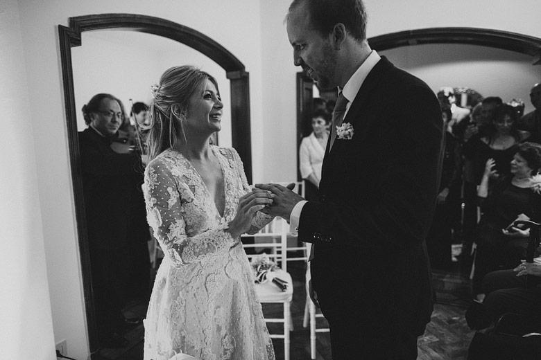 Ceremonia de casamiento en casa en Buenos Aires