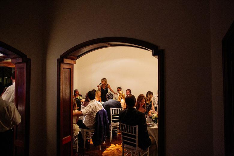 Casamiento en una casa en Olivos