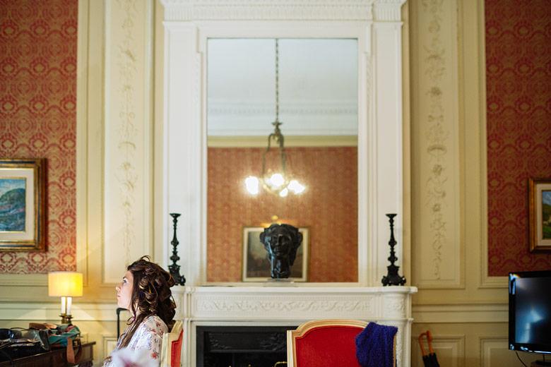 Preparacion de la novia en La Mansion del Four Seasons Buenos Aires