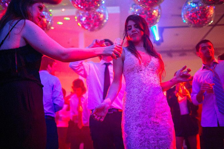 Fotografias de Casamientos de noche sin flash