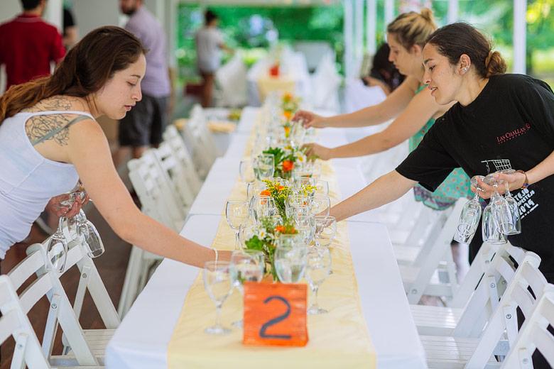 Ambientación de boda en Estancia La Linda