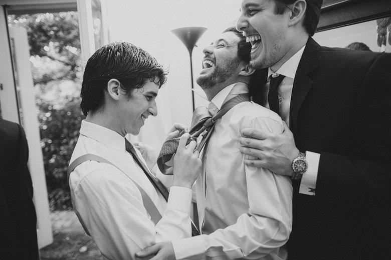 Fotografia espontanea de casamiento