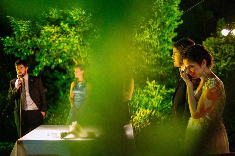 Casamiento nocturno en Estancia La Linda, Pilar