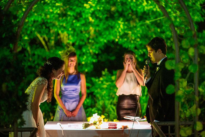 Fotoperiodismo de boda en Estancia La Linda