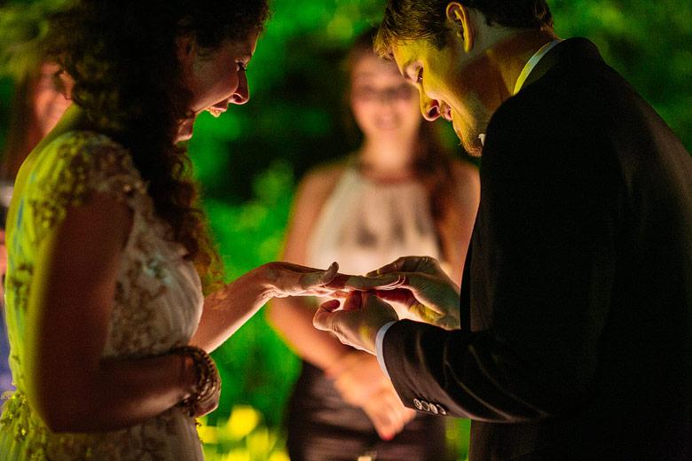 Ceremonia de casamiento en Estancia La Linda