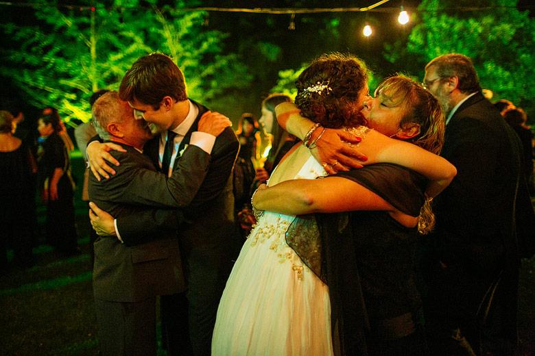 Fotos de casamiento en Estancia La Linda