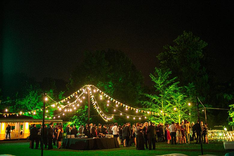 Casamiento en Estancia La Linda de noche