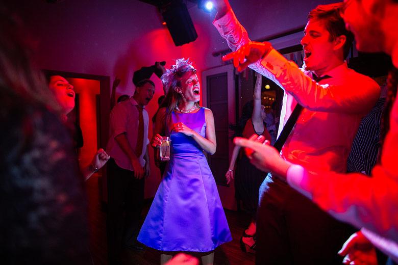 Fotos de casamiento con luz ambiente y sin flash