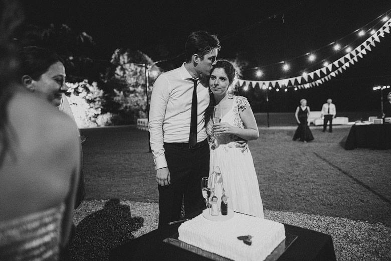 Casamiento de noche en Estancia La Linda