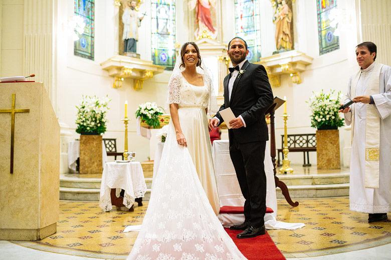 Fotos de boda en Iglesia San Francisco Javier
