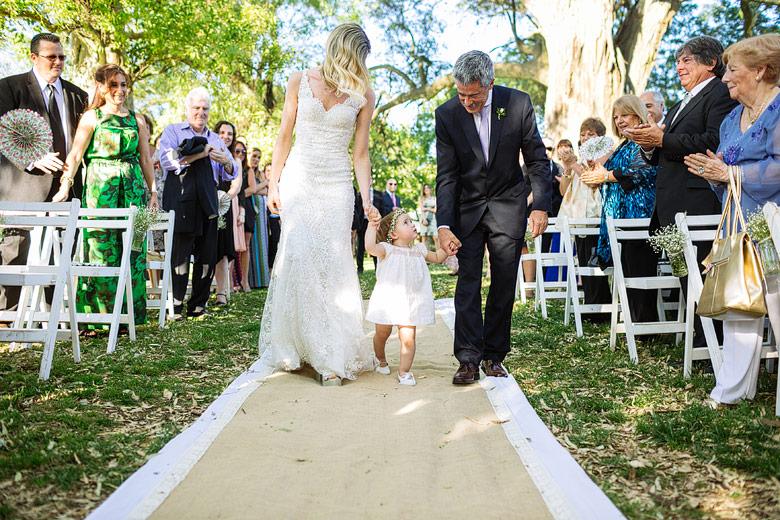 ceremonia de casamiento en estancia carabassa
