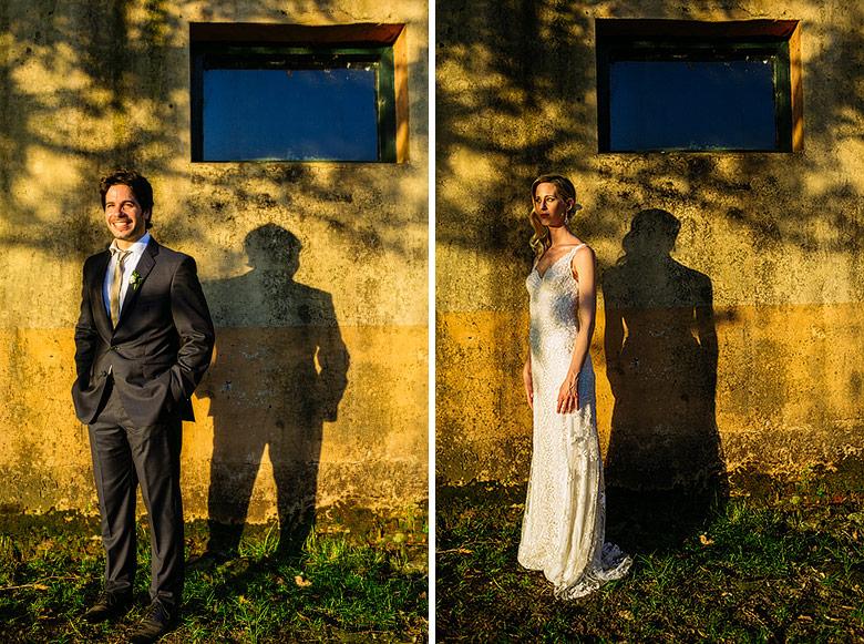 retratos de novios en casamiento