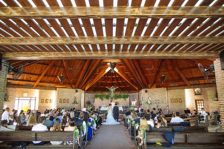 casamiento en la capilla santa teresita de pilar