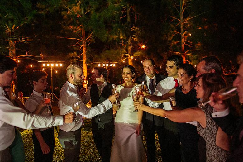 casamiento de noche en la serena de pilar