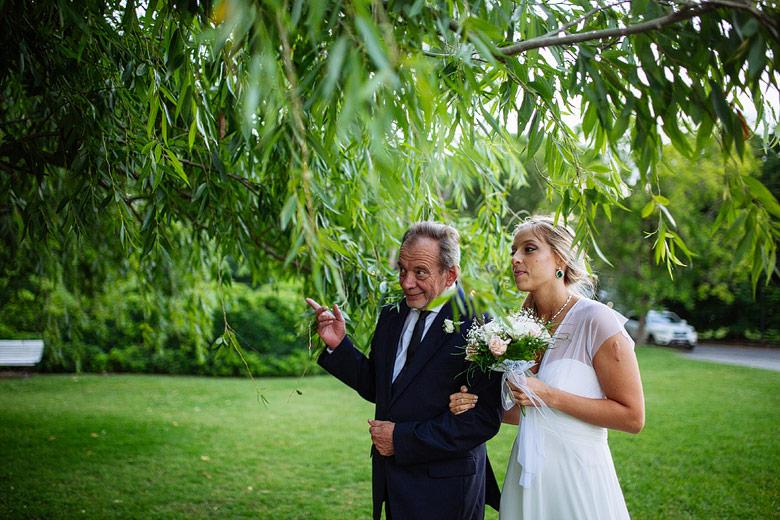 fotos de ceremonia de casamiento en el yacht club argentino san fernando