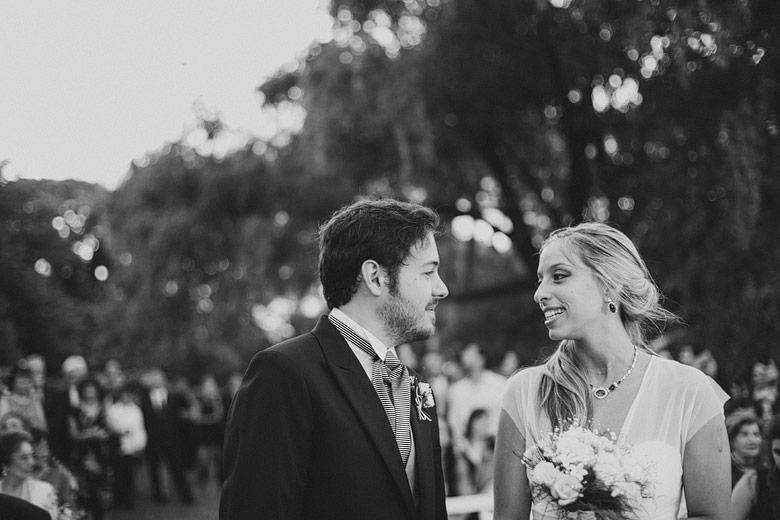 ceremonia de casamiento al atardecer en el yacht club argentino san fernando