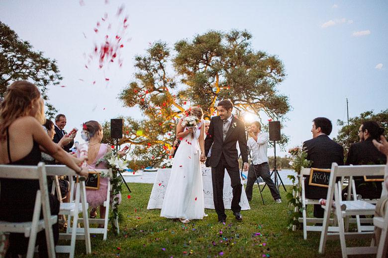 fotos de casamientos de dia en el yacht club argentino san fernando