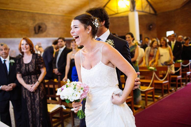 casamiento de dia en la Parroquia Nuestra Señora de La Merced