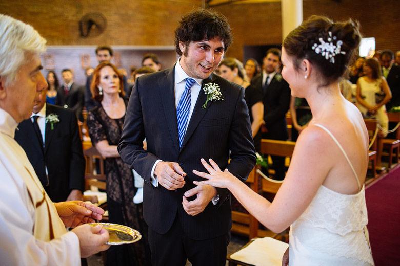 Casamiento en la iglesia Nuestra Señora de La Merced, beccar
