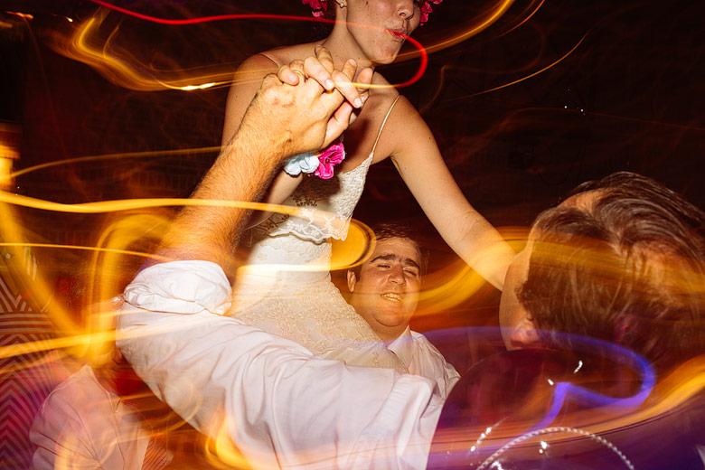 foto loca de casamiento
